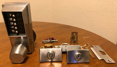 Simplex Security 1000 Series Combination Mechanical Pushbutton Lock Heavy Used