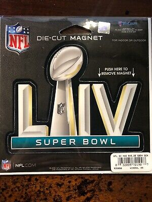 Super Bowl LIV 54 Miami FL NFL Game Day Magnet