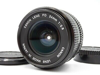 [MINT] Canon New FD NFD 24mm f/2.8 MF Wide Angle Lens From Japan #0020