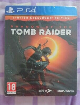 Shadow Of The Tomb Raider Limited Steelbook Edition PS4 Game