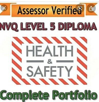 NVQ Level 5 Diploma in Occupational Health & Safety Complete Portfolio For 2020