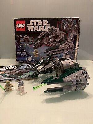 LEGO Star Wars Yoda's Jedi Starfighter 75168 All Minifigures Included complete