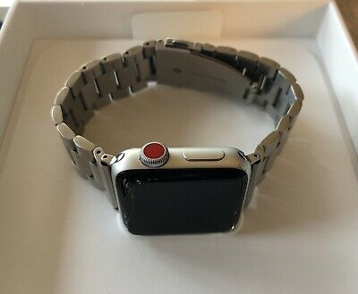 Apple Watch Series 3 38mm Silver Aluminiumgehäuse (GPS + Cellular)