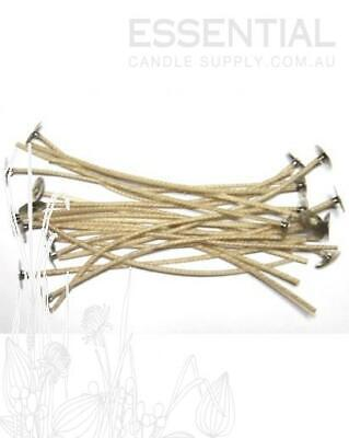 CDN 12 Candle Wick 15cm, with Tab/Sustainer (100 wicks)