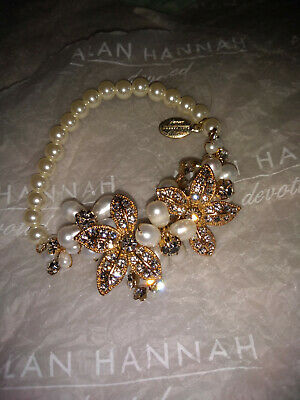 Alan Hannah Devoted Bridal Bracelet beautiful and romantic great condition