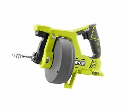 Drain Auger Plumbing Snake Sink Clog Pipe Cleaner Cordless 18V Electric