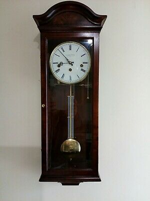Comitti of London 'The Essex' Westminster chime regulator wall clock RRP £1385