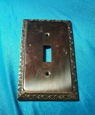 Vintage Solid Brass Light Switch Cover