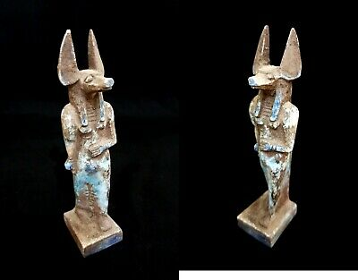 Anubis Statue Egyptian God Ancient Figurine Jackal Sculpture Egypt stone Dog art
