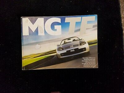 Mg Tf Owners Handbook