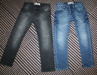 Bundle 2 Pairs Boys Authentic LEVI Jeans 4 - 5 Years 510 and 520