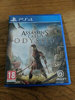 Assassin's Creed Odyssey PS4 Brand New Sealed Official PlayStation 4