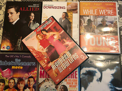 Job Lot 7 DVD's CERT 15