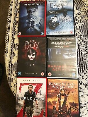Job Lot 6 DVD's CERT 15