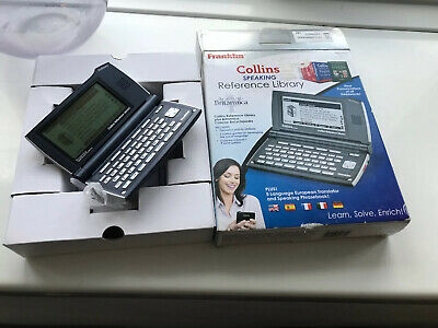 Franklin Collins DMQ2100 Speaking Reference Library  Looks Almost Unused