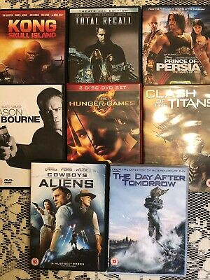Job Lot 8 DVD's Cert 12