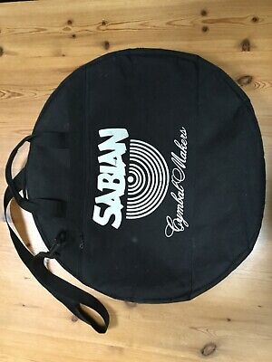 """Sabian 22"""" Padded Cymbal Case used but in good condition with no rips"""