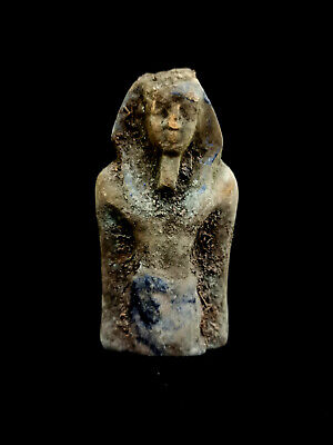 King Egyptian Statue Pharaoh Ancient Figurine Bust Egypt Mummy Sculpture Antique