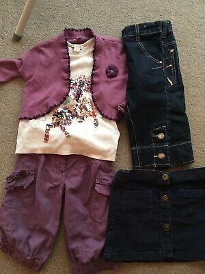 Girls Mixed item clothes Bundle Age 3-4 (5 items) includes Monsoon & Next