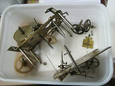Smiths Enfield clock parts for spares