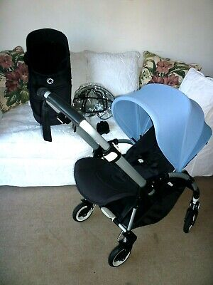 BUGABOO Bee  3 Grey  CARRYCOT fabrics BNIB Can Be Used On A Bee 5