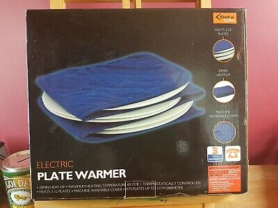 Electric Plate Warmer Heats 3-12 Plates