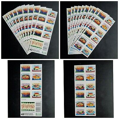 10 Sheet of 20 Delicious USPS First Class Forever Stamps (200 Stamps total)