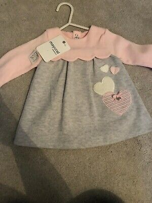 Baby Girl Pink Mayoral Dress -BNWT - 2-4 Months
