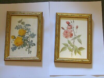 Two Floral Picture Frames