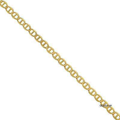 "14K Solid Yellow Gold Chain Mariner Gucci Necklace 16"" 18"" 20"" 22"" 24"" 30''"