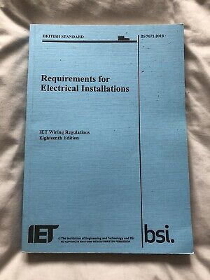 Requirements for Electrical Installations IET Wiring Regulations