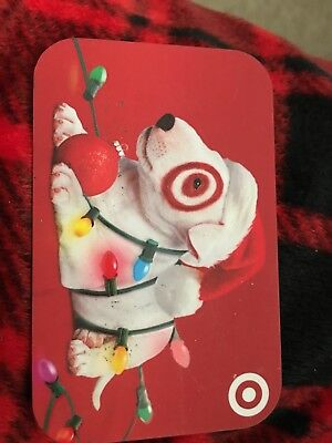 Target Gift Card  NO VALUE