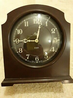8 Day SEC Bakerlite Mantle Clock by Smith's clocks