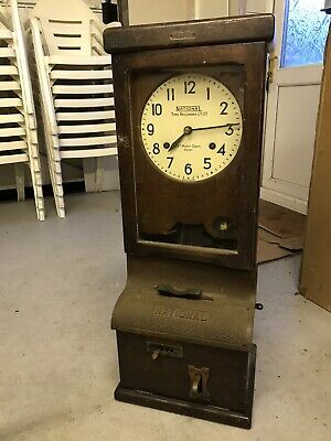 Antique National Time Recorder St Mary Cray Kent