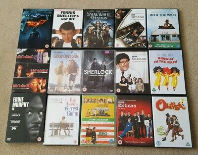 New DVD Joblot Bundle Mixed Genres x15 with 20 Movies or Series in Total