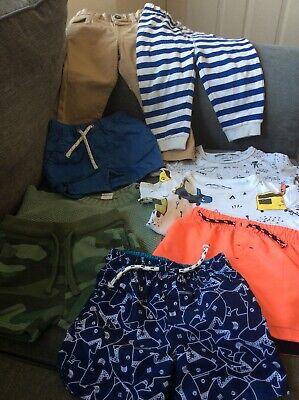 Small Bundle Baby Boys Clothes Age 9-12 Months