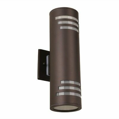 ARTIKA Stainless Steel LED Wall Light Up & Down Lighter Outdoor & Indoor