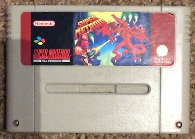 Rare Snes-Super Metroid(UK PAL)tested & works