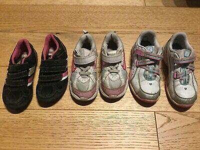 Girls bundle of nike, clarks and next trainers size 9, 10