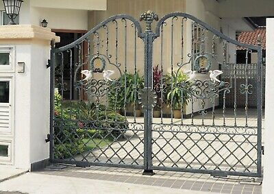 Wrought iron drive gates garden gates estate gates