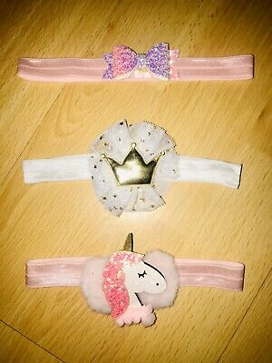 baby girl headband bundle