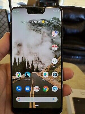 Google Pixel 3 XL - 64GB - Just Black (Unlocked) - Pixel Stand