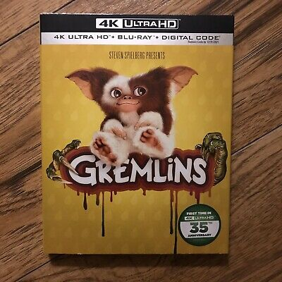"Gremlins (4K Ultra HD + Blu-ray + Digital, 2019) ""Brand New"" ""Sealed"""
