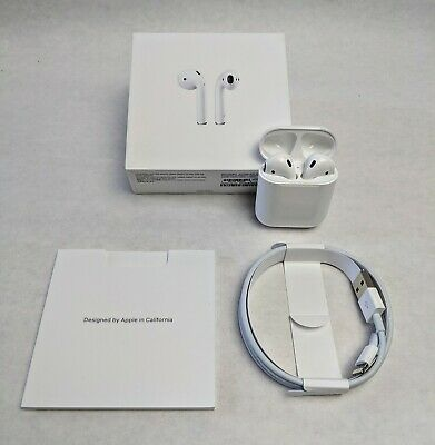 Apple AirPods 2nd Generation with Charging Case - White - MV7N2AM/A