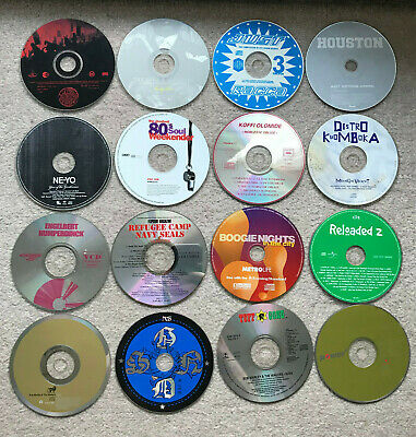 Sale Job Lot 25 Mixed Music CDs CD + DVDs Albums Singles Movies