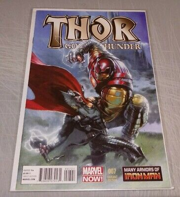 Thor God Of Thunder #7 1:25 Dell'otto Variant Nm