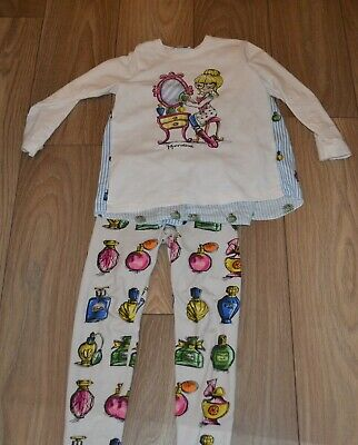 Girls gorgeous Monnalisa  outfit leggings and top size 8 years