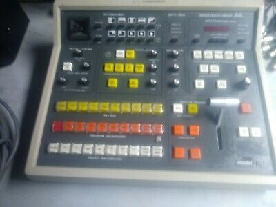 Grass Valley Group Gvg Model 110 Video Editing Production Switcher Controller