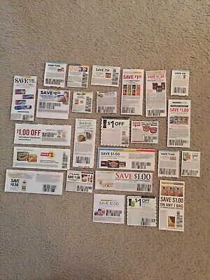25 Grocery Food Coupons Only. SEE Savings!! 2020