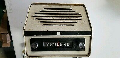 Vintage Ih International Harvester Tractor Radio 1Ha1347 Farmall - Powers Up!